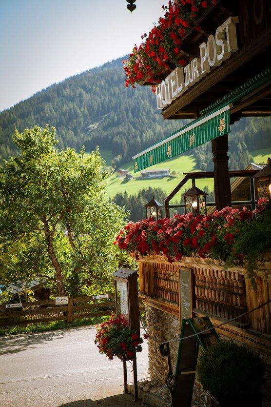 Restaurant Terrasse Hotel Zur Post Alpbach