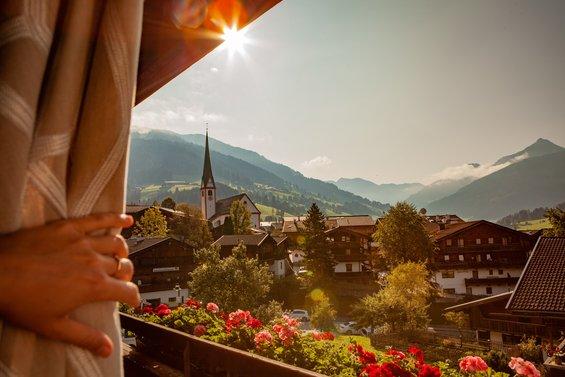 Aussicht Hotel zur Post in Alpbach