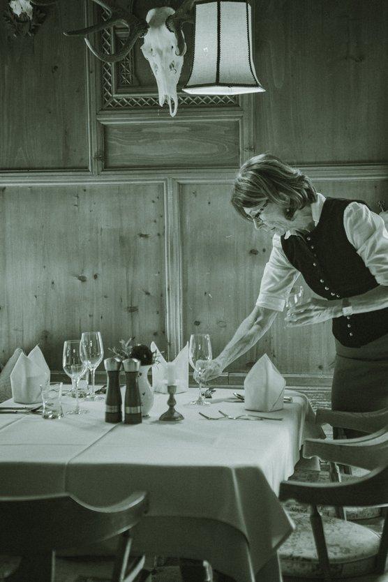 À la carte Restaurant im Hotel Zur Post Alpbach