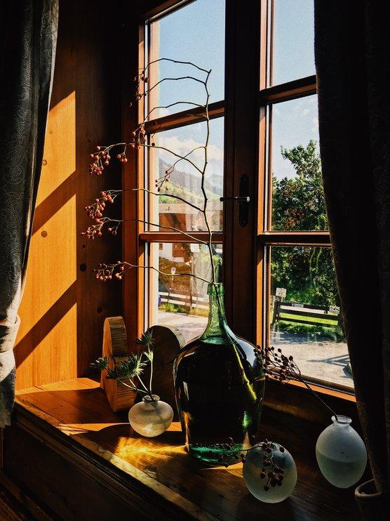 Detailaufnahme Stube Hotel zur Post Alpbach