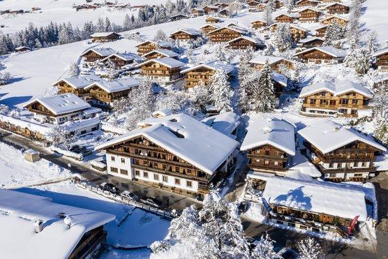 Hotel zur Post in Alpbach im Winter