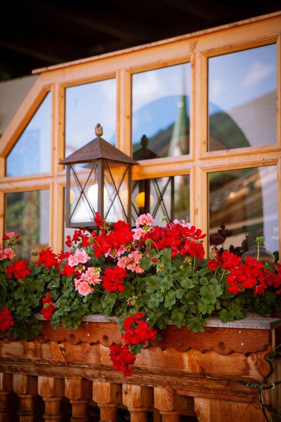Terrasse Hotel Zur Post Alpbach